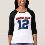 Romney/Ryan '12, diseño del deporte del equipo uni Camiseta