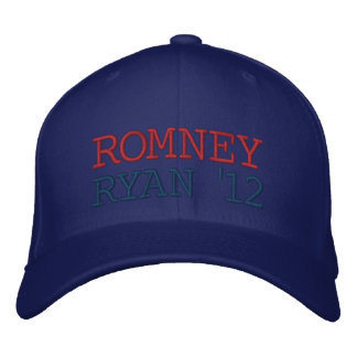 Romney Ryan 12 Embroidered Baseball Cap