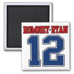 Romney Ryan 12, equipo universitario deportivo Imanes De Nevera