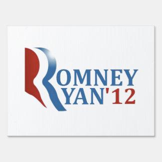 Romney Ryan '12 nuestra opción Letreros