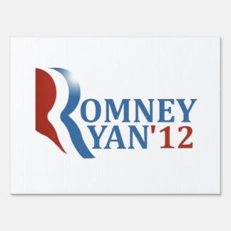 Romney Ryan '12 Our Choice Lawn Sign