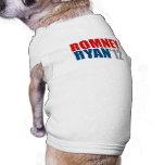 ROMNEY RYAN 12.png Dog Tee Shirt