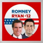 Romney/Ryan '12 Póster