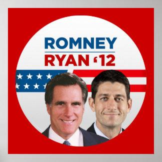 Romney / Ryan '12 Poster