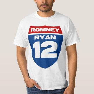 Romney Ryan 12 T Shirt