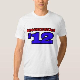 Romney Ryan '12 Varsity Sport Design Mitt Romney T Tee Shirt