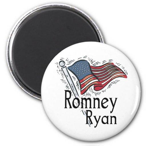 Romney Ryan 2012 2 Inch Round Magnet