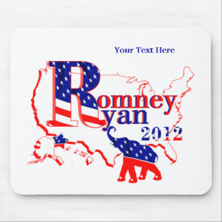 Romney Ryan 2012 - A Winning Team For The People Mouse Pad