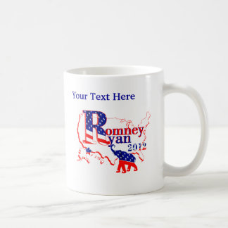 Romney Ryan 2012 - A Winning Team For The People Coffee Mugs