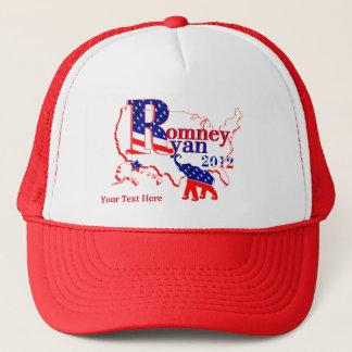 Romney Ryan 2012 - A Winning Team For The People Trucker Hat