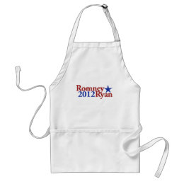Romney Ryan 2012 Adult Apron