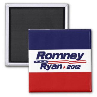 Romney Ryan 2012 - Anti Obama 2 Inch Square Magnet