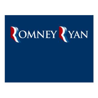 ROMNEY RYAN 2012 BANNER png Postcard