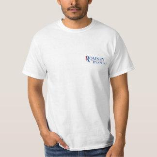 Romney Ryan 2012 basic t-shirt