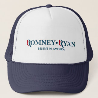 Romney / Ryan 2012 - Believe in America Trucker Hat