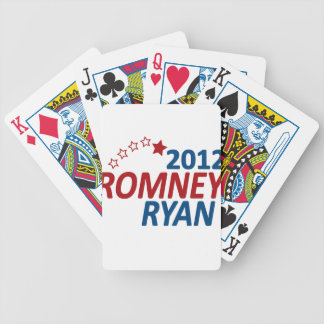 Romney Ryan 2012 Bicycle Playing Cards