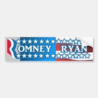 Romney Ryan 2012 Bumper Sticker Car Bumper Sticker