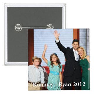 Romney-Ryan 2012!!! Pinback Button