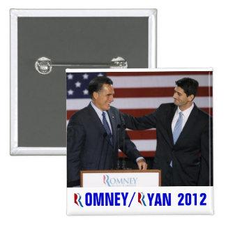 Romney/Ryan 2012 Pin