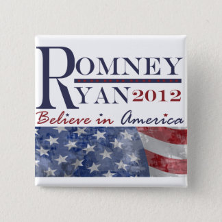 Romney - Ryan 2012 Button