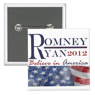 Romney - Ryan 2012 Button