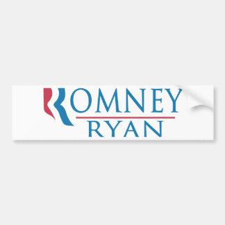 Romney Ryan 2012 Pegatina De Parachoque