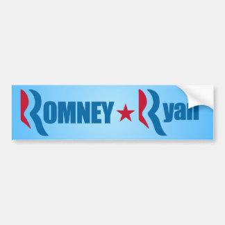 Romney - Ryan 2012 Etiqueta De Parachoque