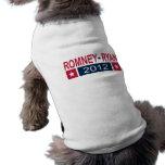 Romney Ryan 2012 Camisas De Mascota