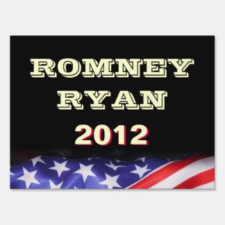 Romney / Ryan 2012 Campaign Yard Sign