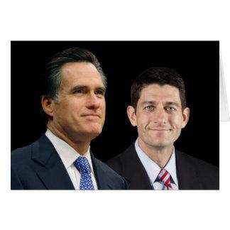 Romney-Ryan 2012 Card