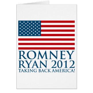 Romney Ryan 2012 Card