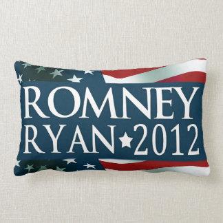 Romney Ryan 2012 Cojín Lumbar