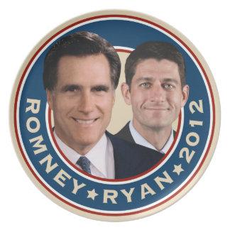 Romney-Ryan 2012 Commemorative Plate