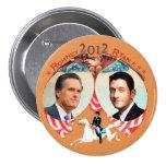 Romney Ryan 2012 con Ana en Refalca Pins