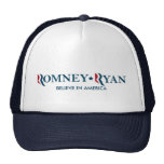 Romney/Ryan 2012 - crea en América Gorra