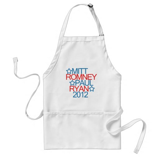 Romney Ryan 2012 Delantales