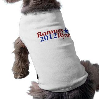 Romney Ryan 2012 Doggie Tshirt