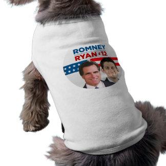 Romney Ryan 2012 Doggie Tee Shirt