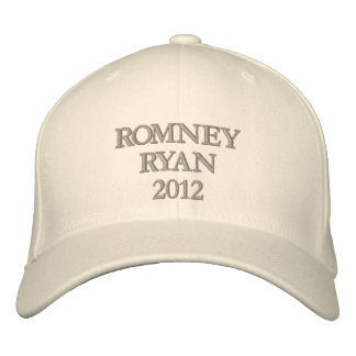 Romney Ryan 2012 Embroidered Baseball Hat