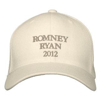 Romney Ryan 2012 Embroidered Baseball Cap