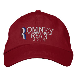 Romney/Ryan 2012 Embroidered Hat