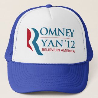 Romney / Ryan 2012 for US President and VP Trucker Hat