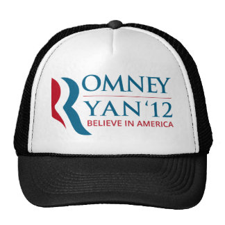 Romney / Ryan 2012 for US President and VP Trucker Hat