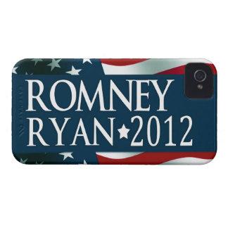 Romney Ryan 2012 Funda Para iPhone 4 De Case-Mate