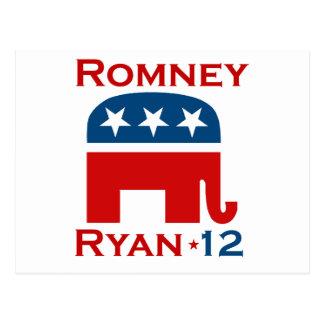 ROMNEY RYAN 2012 GOP POST CARDS