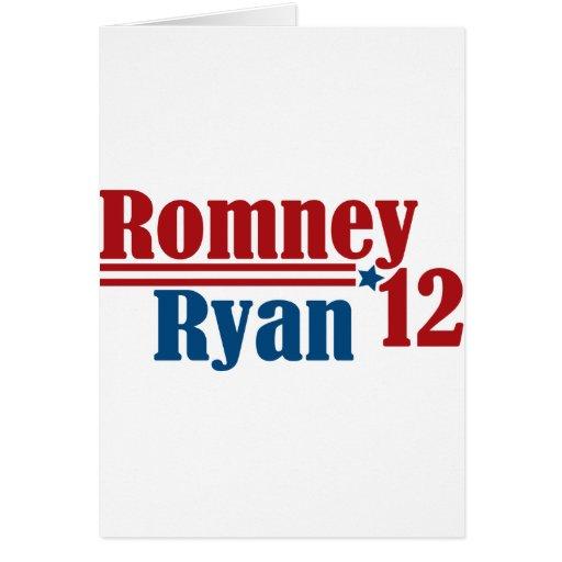 Romney Ryan 2012 Greeting Card