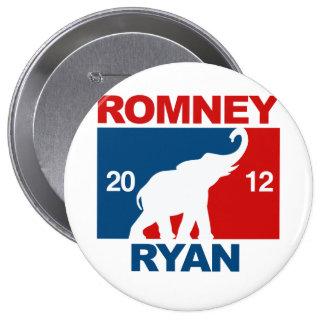 ROMNEY RYAN 2012 ICON.png PROFESIONALES Pin Redondo 10 Cm