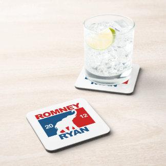 ROMNEY RYAN 2012 ICON.png PROFESIONALES Posavasos De Bebidas
