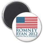 Romney Ryan 2012 Imán De Frigorifico
