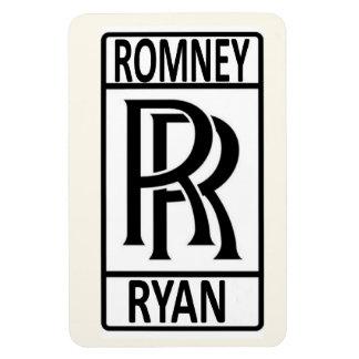 Romney Ryan 2012 Imán Foto Rectangular